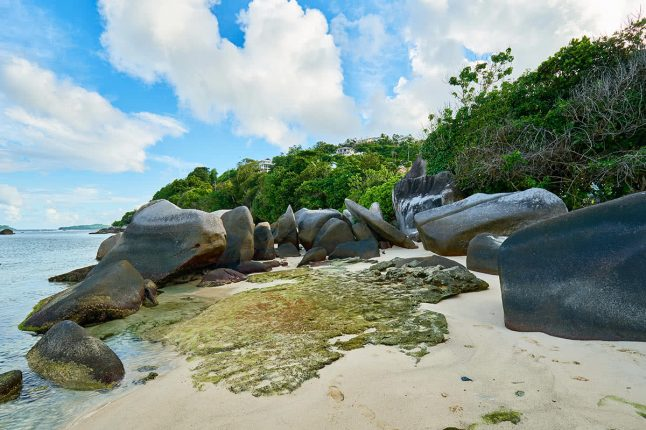 Anse Nord Est in the North of Mahe, Seychelles