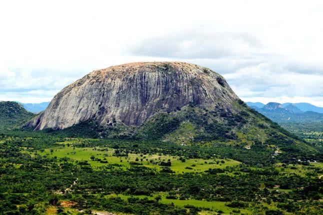 Mount Harare in Mutoko Zimbabwe