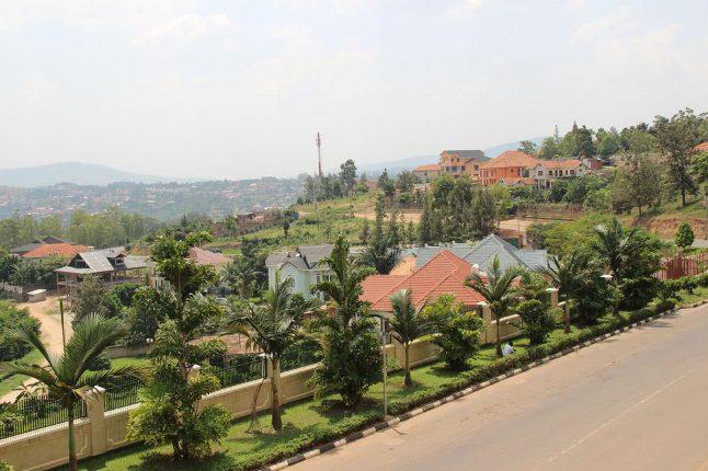 Landscape of Kigali