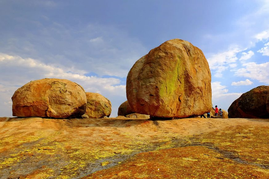 Rock Formations in Matobo National Park, Zimbabwe