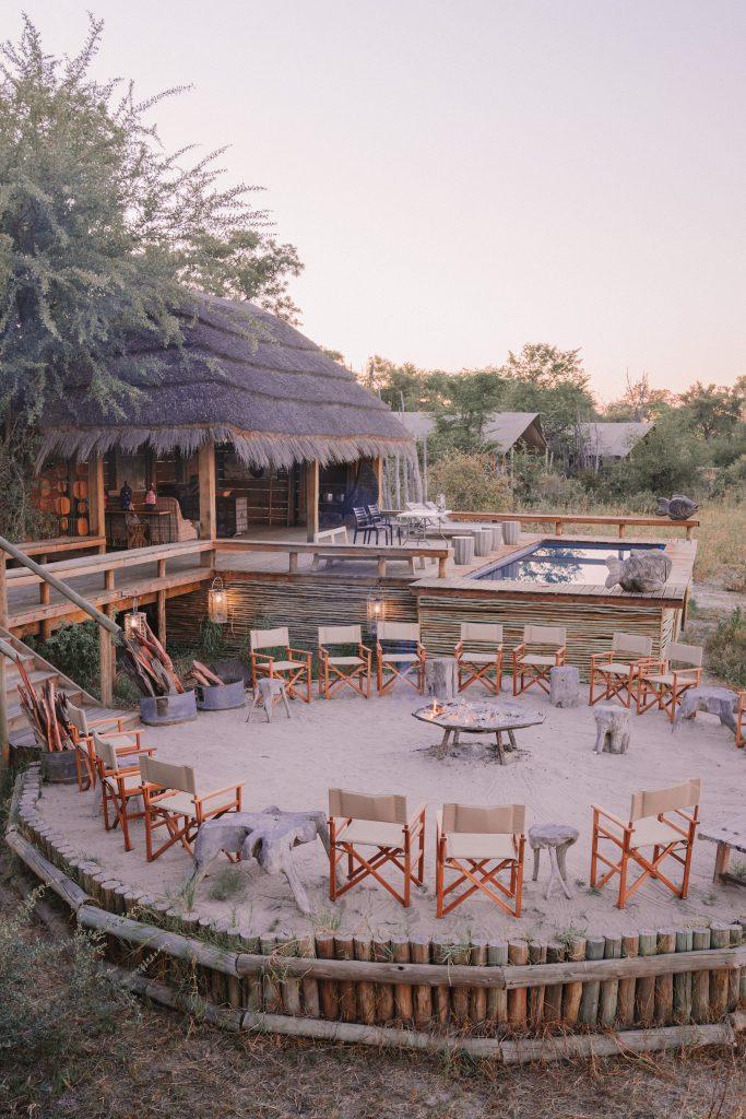 Best isolated lodges in Botswana